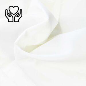 Povlak bílý hladký Jemná náruč